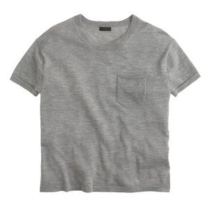 J.Crew Collection Featherweight 100% Cashmere Tee